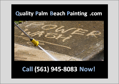 Palm Beach Pressure washing
